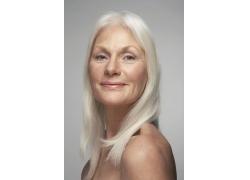 欧美胖奶奶_外国人 老太太 老奶奶 长发 白发