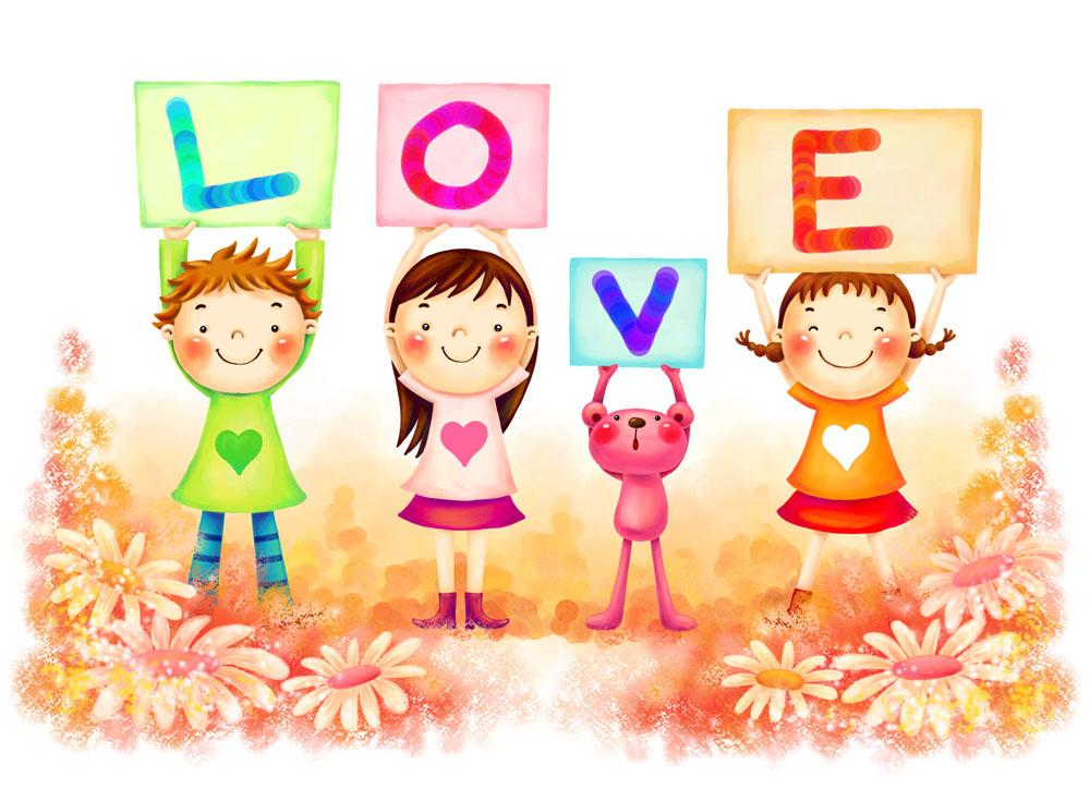 创意,抽象,绘画,文化艺术,梦幻背景,花纹,卡通插画,儿童节,幼儿园素材图片