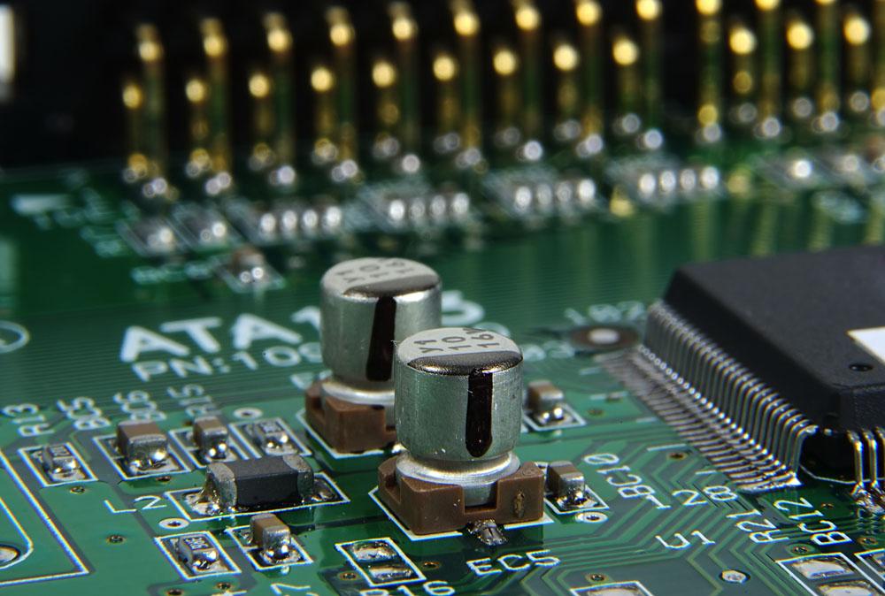 集成电路板高清特写 图片素材下载-工业生产-现代
