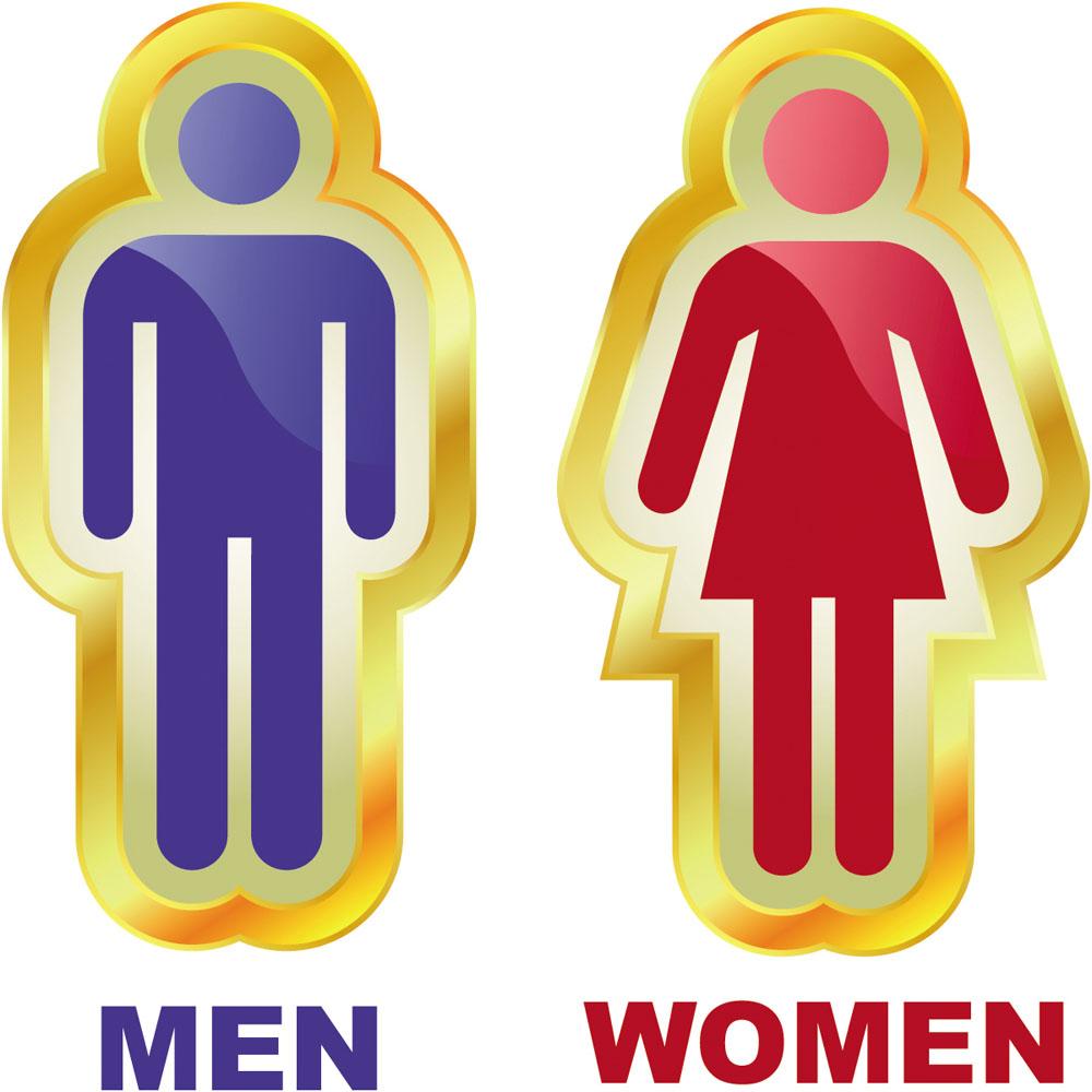 集图网 矢量素材 矢量人物 其他人物 卫生间,洗手间,标厕所标识,厕所图片