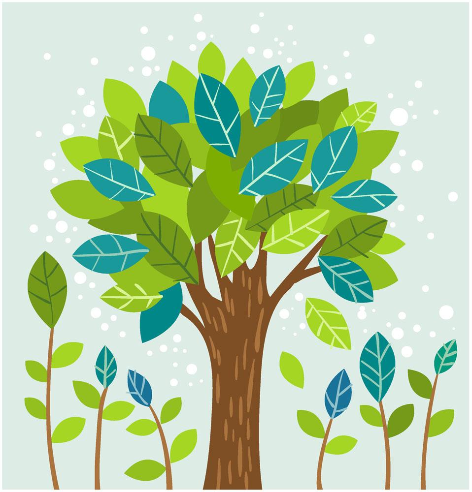 创意抽象大树图片图片