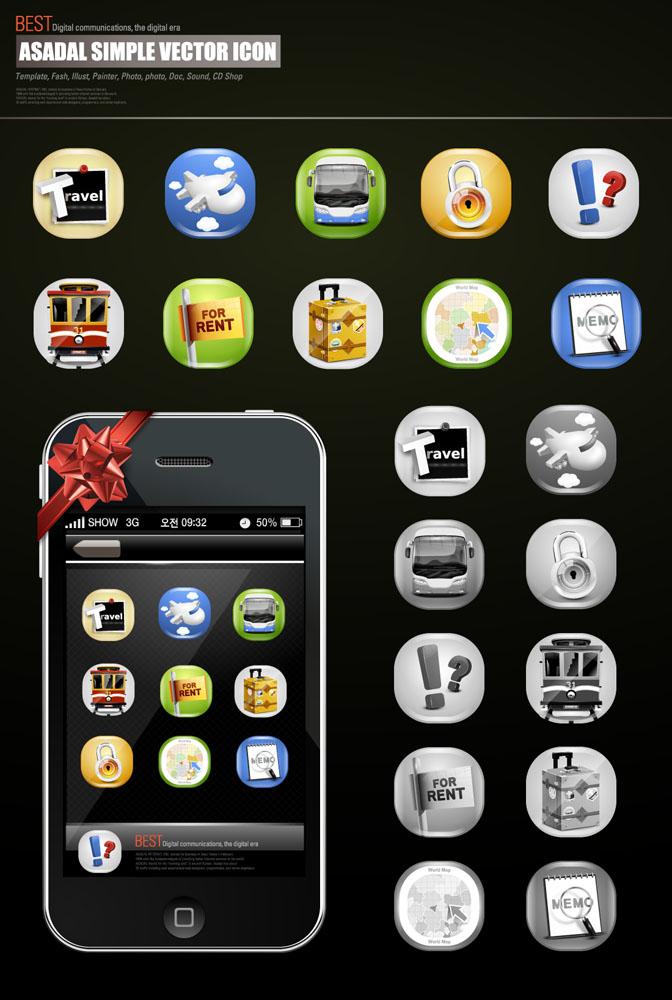 标志图标 按钮图标 网页图标,苹果手机,智能手机,网站按钮,ui设计,ui图片