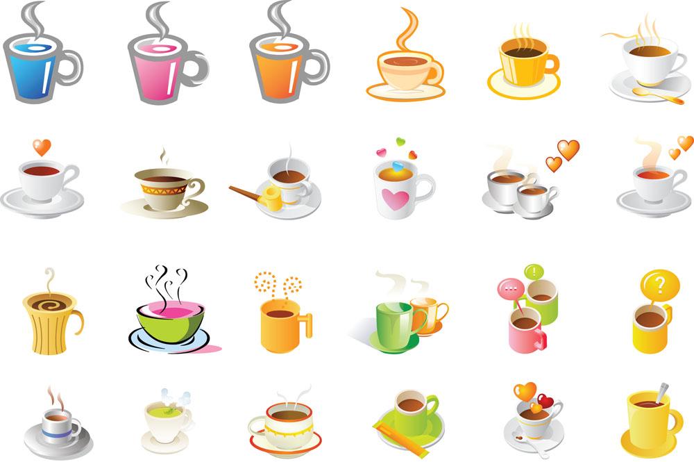 杯子,矢量杯子,咖啡,咖啡杯,餐饮,图标,矢量图标,立体图标,3d图标图片