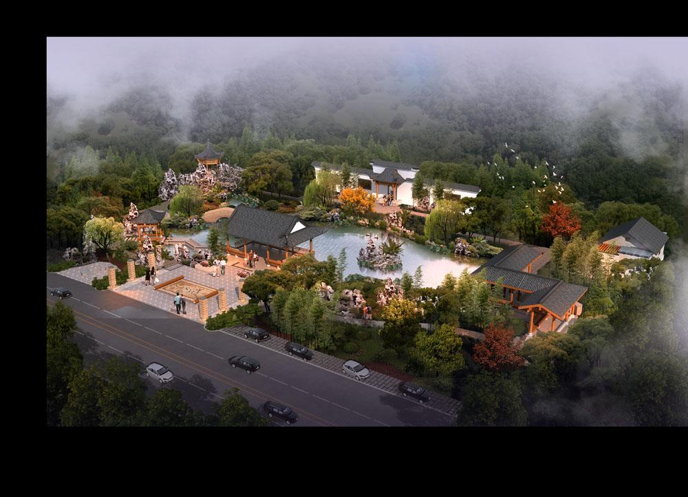 集图网 psd素材 环境设计 园林景观 建筑效果图,建筑设计,景观园林图片