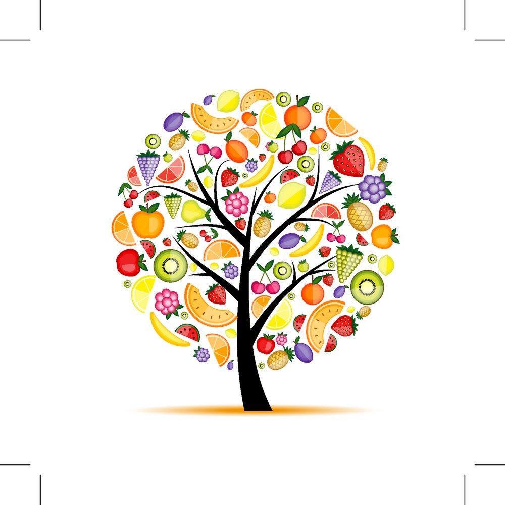 抽象树,时尚花纹,时尚潮流,树,潮流花纹,插画树木,卡通树木,花草树木图片