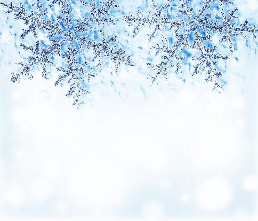 雪花边框背景 图片素材下载-其它类别-背景花边-图
