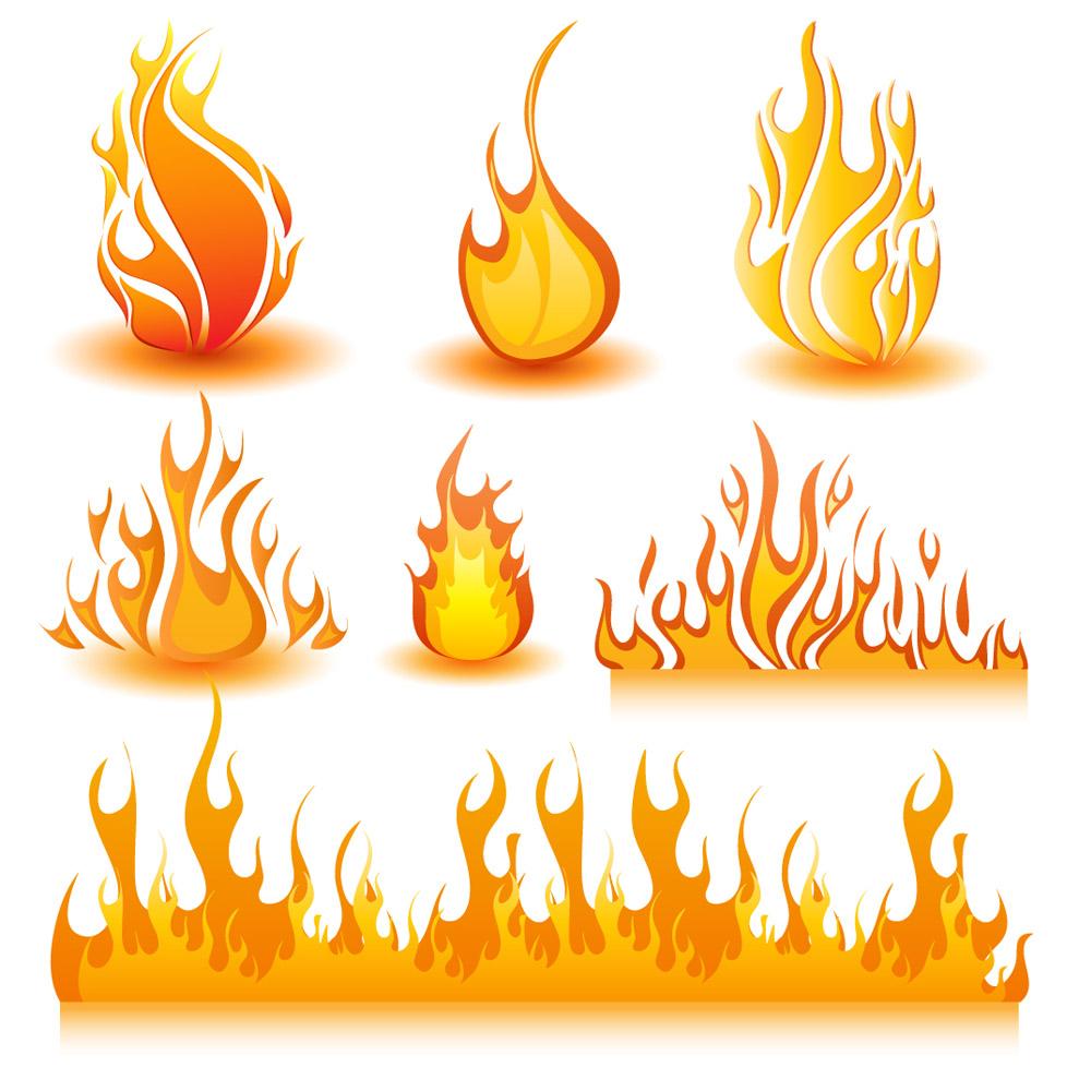 印花图案 火焰,火花,火苗,花纹,矢量花纹,图案,汽车,汽车纹身,汽车贴
