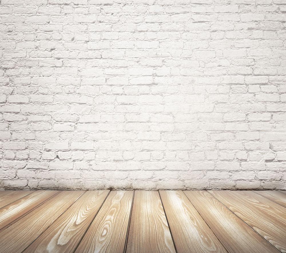 白色砖墙与地板 图片素材下载 底纹背景 背景花边 图片素材 集图网 Www Jituwang Com