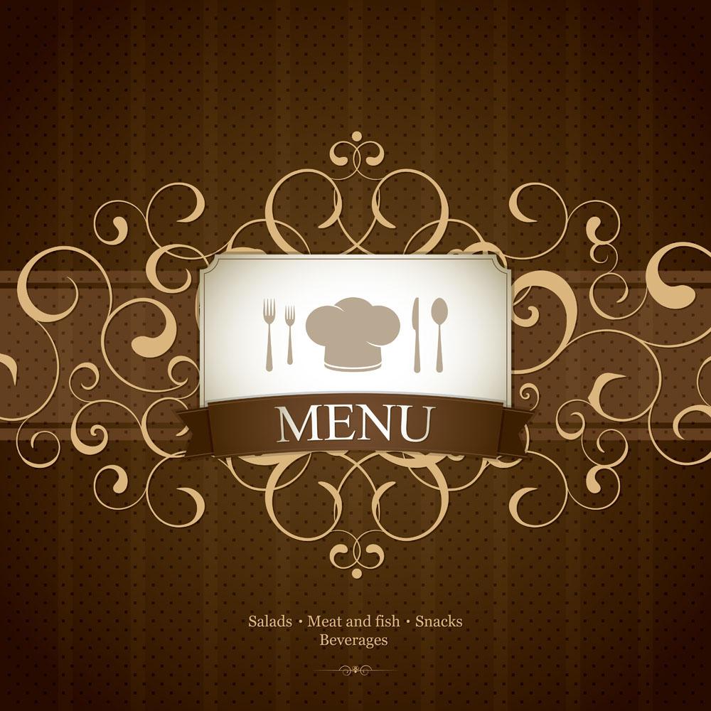 餐饮海报背景素材矢量素材下载-情人节-节日素材