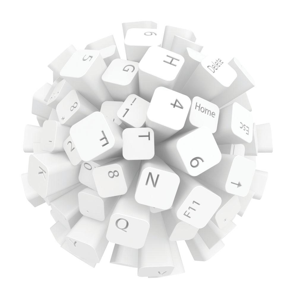 创意键盘背景素材图片