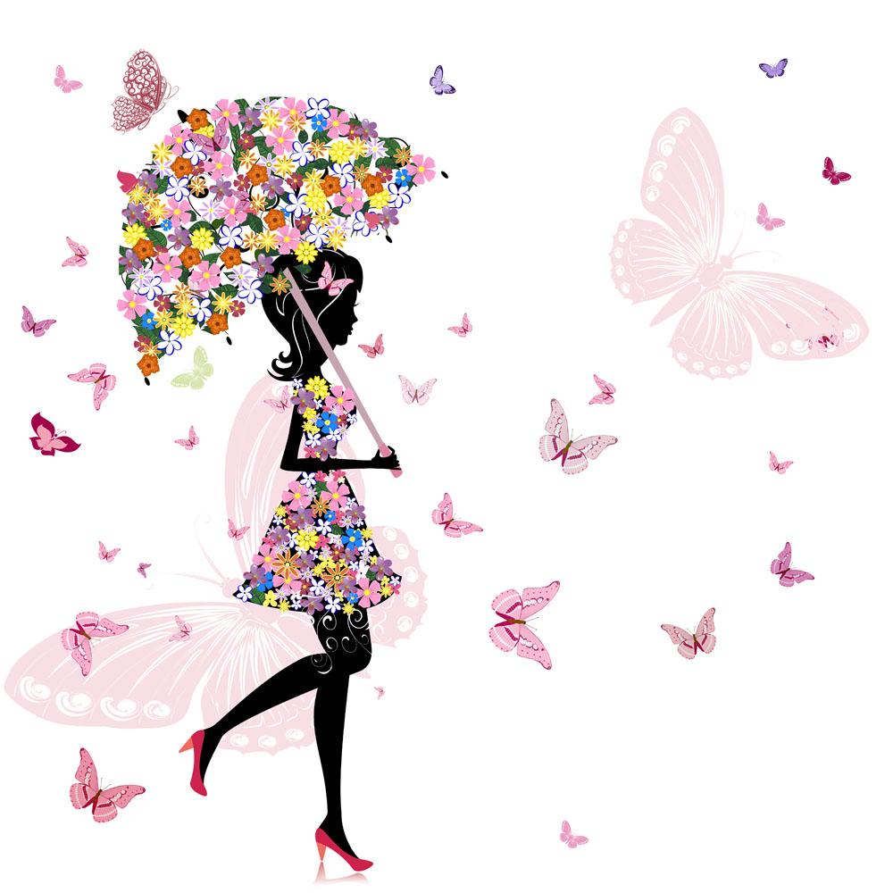 收藏 关键词:打着伞的花仙子图片下载,美女,人物,花仙子,雨伞,蝴图片