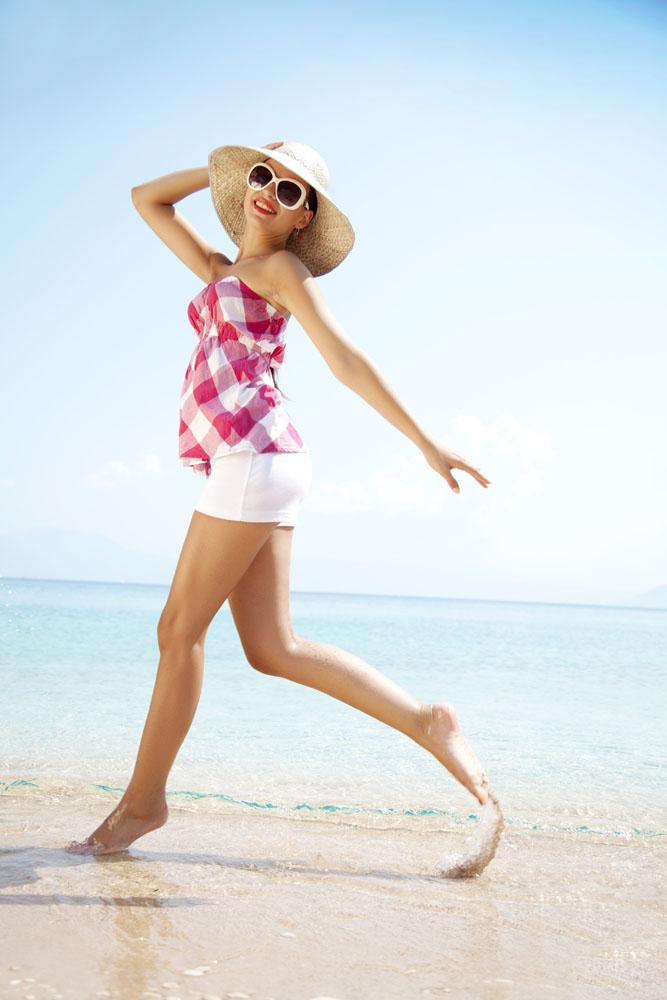 图片美女里光海水美女图片素材下载(沙滩ID:3脚丫海报v图片图片