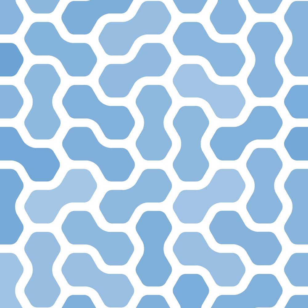 蓝色背景几何图案图片图片