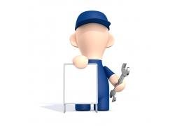 修理工小人_维修工3D小人图片素材下载(图片ID:319459)_-其他人物-图片素材_ 集 ...
