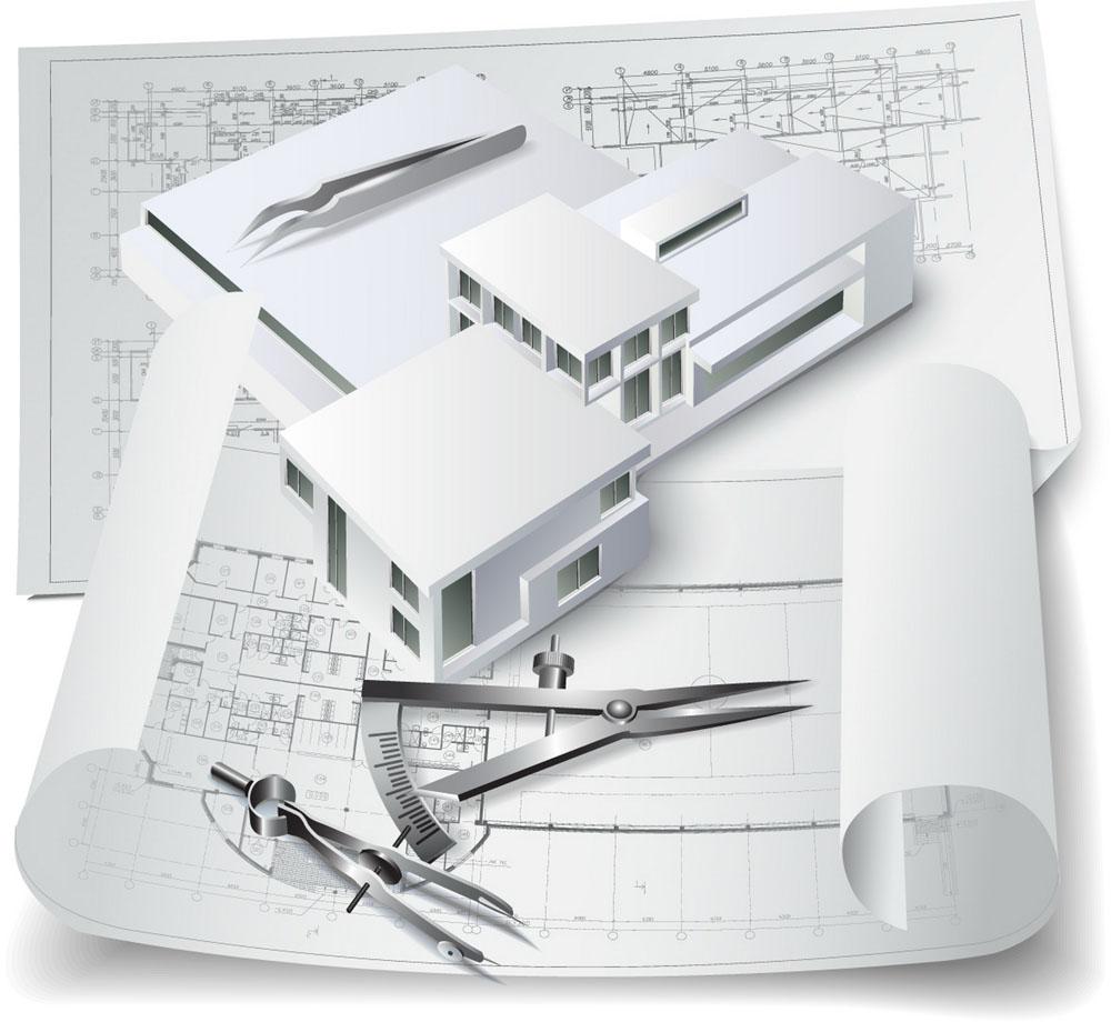 模型图纸与建筑设计别墅长虹29168chd行图纸图片