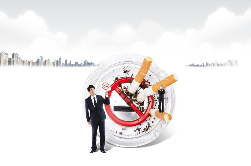 其它类别 戒烟公益广告,香烟,商务男士,禁烟广告,禁止吸烟,公益海报图片