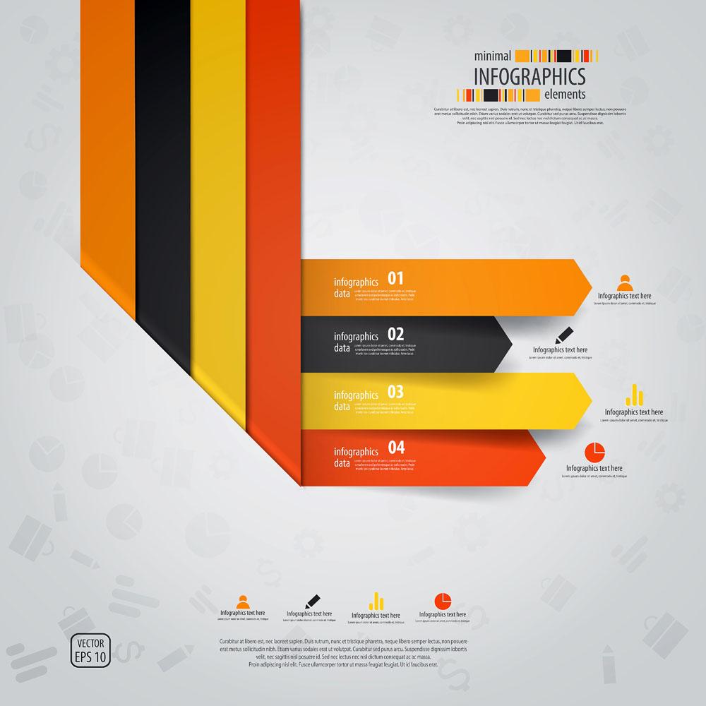 创意目录模板设计图片模板下载,目录版式模板,版式设计,折纸标签,简约图片