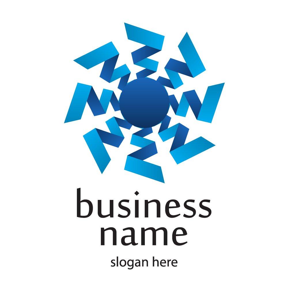 折纸logo设计图片