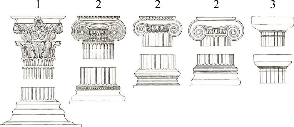 好看的罗马柱合辑图片图片