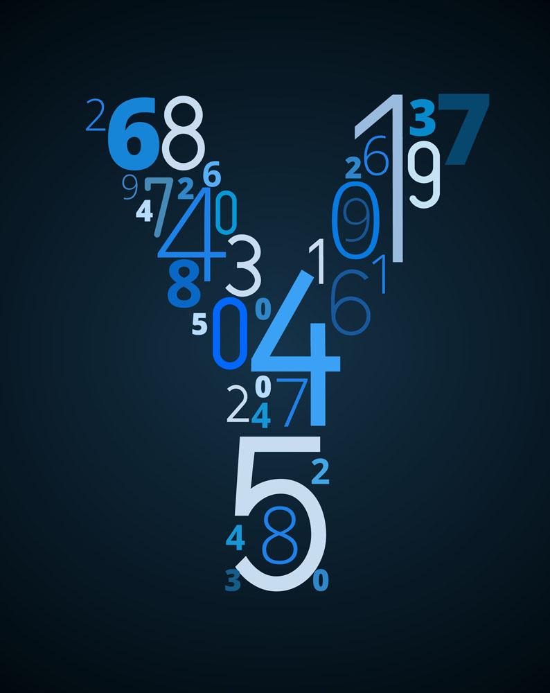 创意数字字母y图片图片