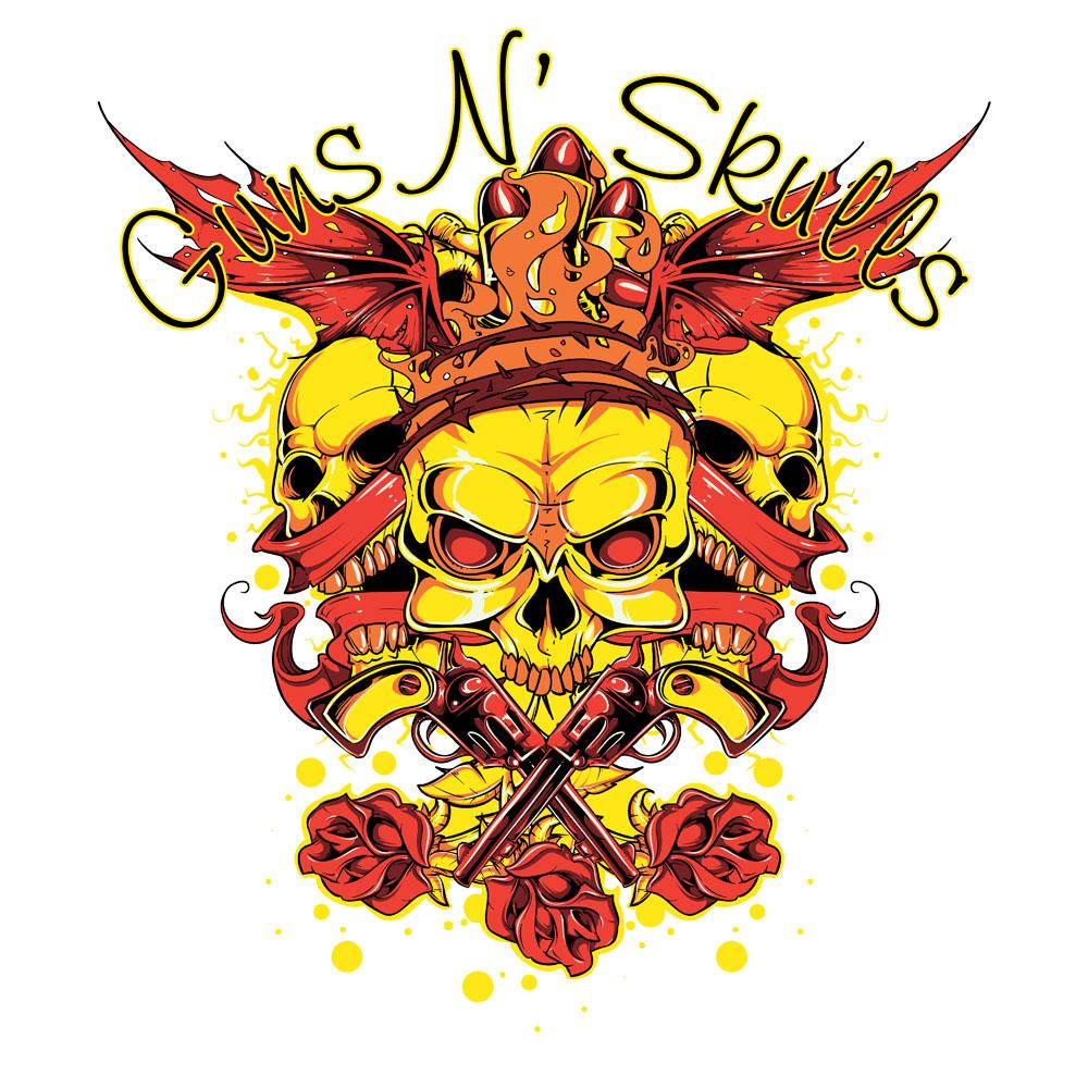 玫瑰,骷髅头,创意字母,t恤图案,t恤设计,潮流图案,t恤花纹,时尚潮流图片