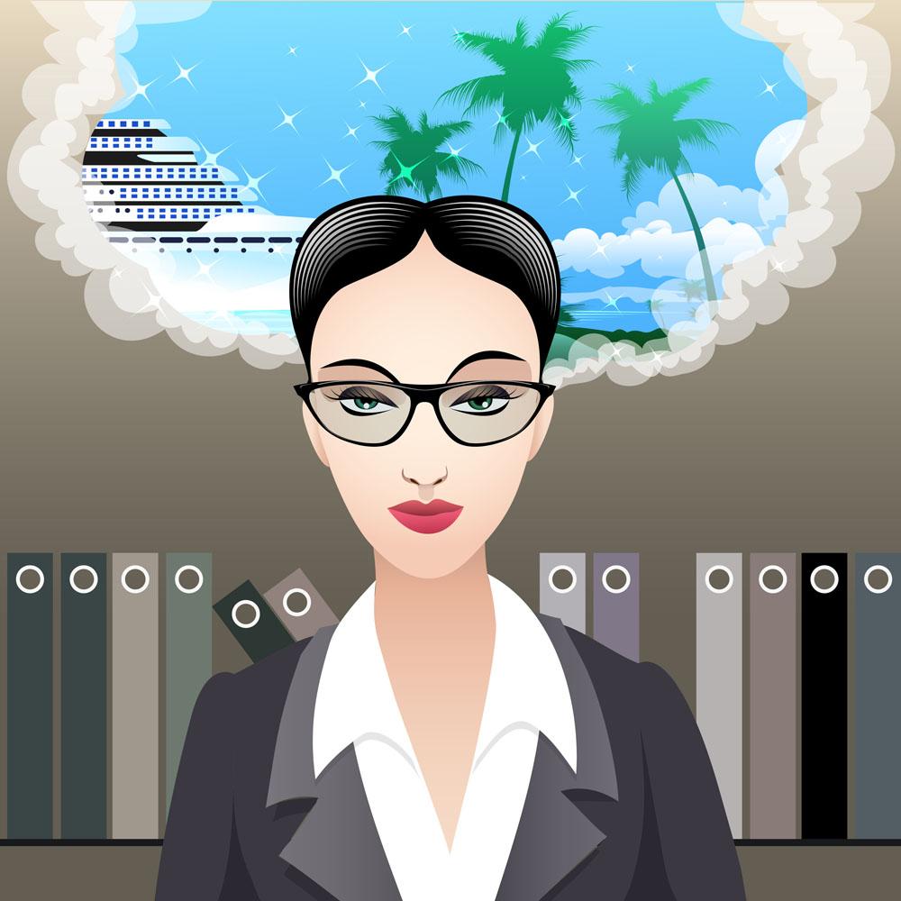 集图网 矢量素材 矢量人物 卡通形象 美丽女教师,美丽女人,时尚女人图片