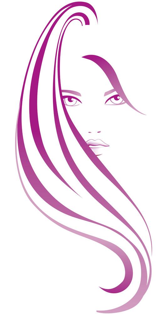 集图网 矢量素材 文化艺术 其他艺术 美发,美发标志,美女标志,美女图片