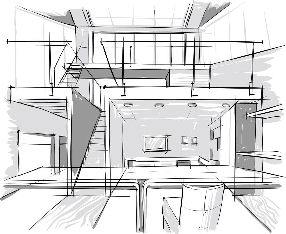 关键词:创意手绘办公楼设计图片下载,手绘图纸,办公楼设计图纸,室内
