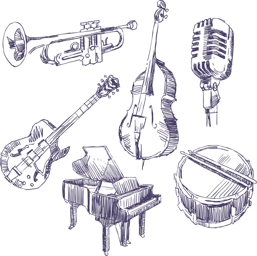 音乐乐器图片