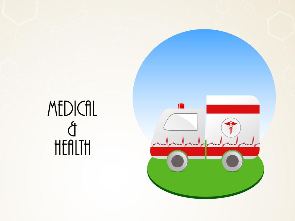 卡通救护车图片图片