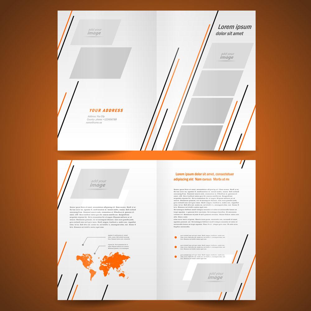 动感线条,世界地图,画册设计,dm单设计,排版设计,单页模板,折页模板图片