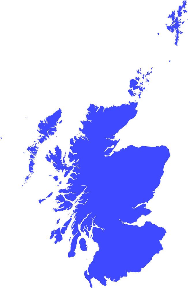 苏格兰地图图片图片