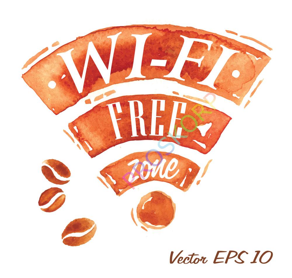 创意wifi设计,创意,wi-fi,wi-fi图标,无线网络标识,公共标识,指示牌图片