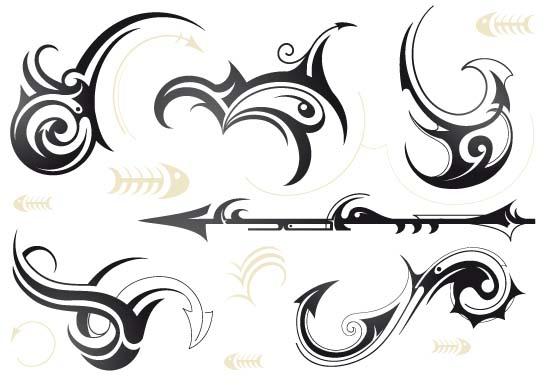 胳膊上箭头纹身分享展示
