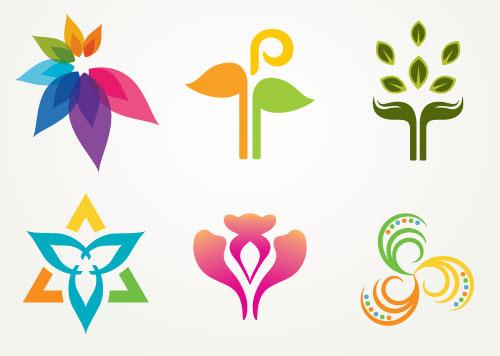 鲜花logo设计图片下载,花朵logo,鲜花logo,花卉logo图形,创意logo设计图片