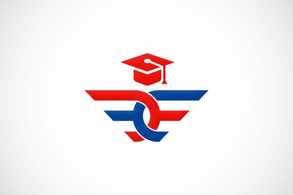 集图网 矢量素材 标志图标 行业标志 教育logo设计,创意logo图形,标志图片