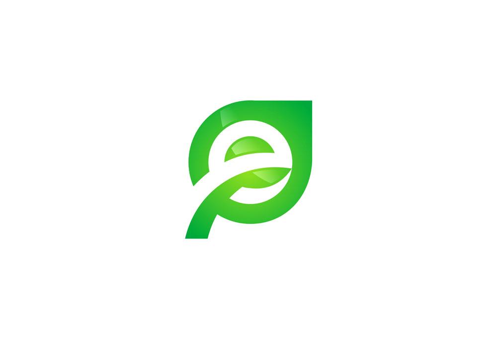 绿色网站logo设计图片