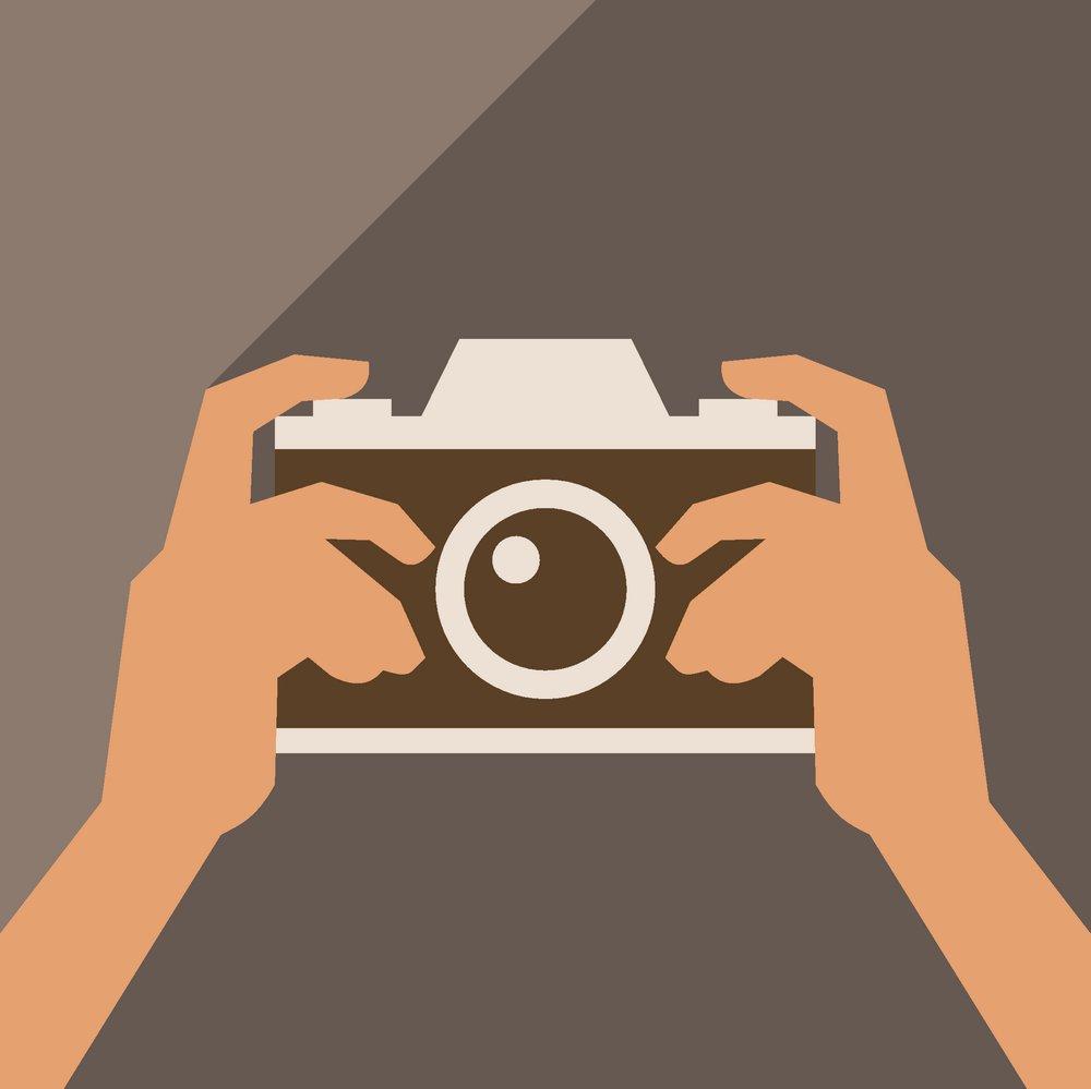 生活百科 其他 拍照手势,摄影手势,数码相机,照相机,矢量相机,卡通
