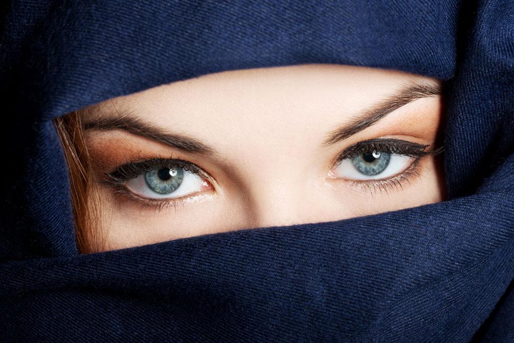 蒙面的美女眼睛特写图片素材下载(图片id:432595)_-女性女人-图片素材