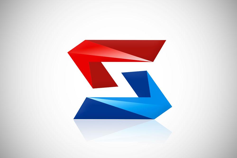 集图网 矢量素材 标志图标 行业标志 创意字母logo设计,创意logo图形图片
