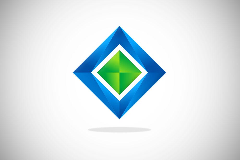 创意矩形方框logo设计图片