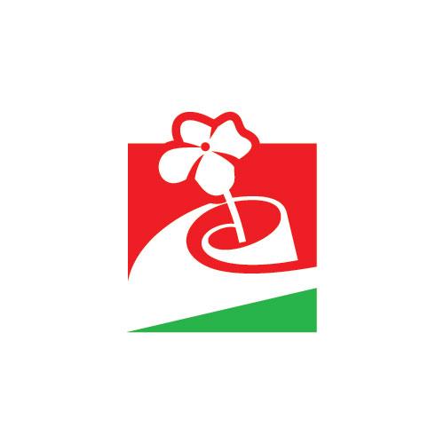 标志图标 行业标志 女性美容logo,花朵logo设计,鲜花logo设计,创意图片
