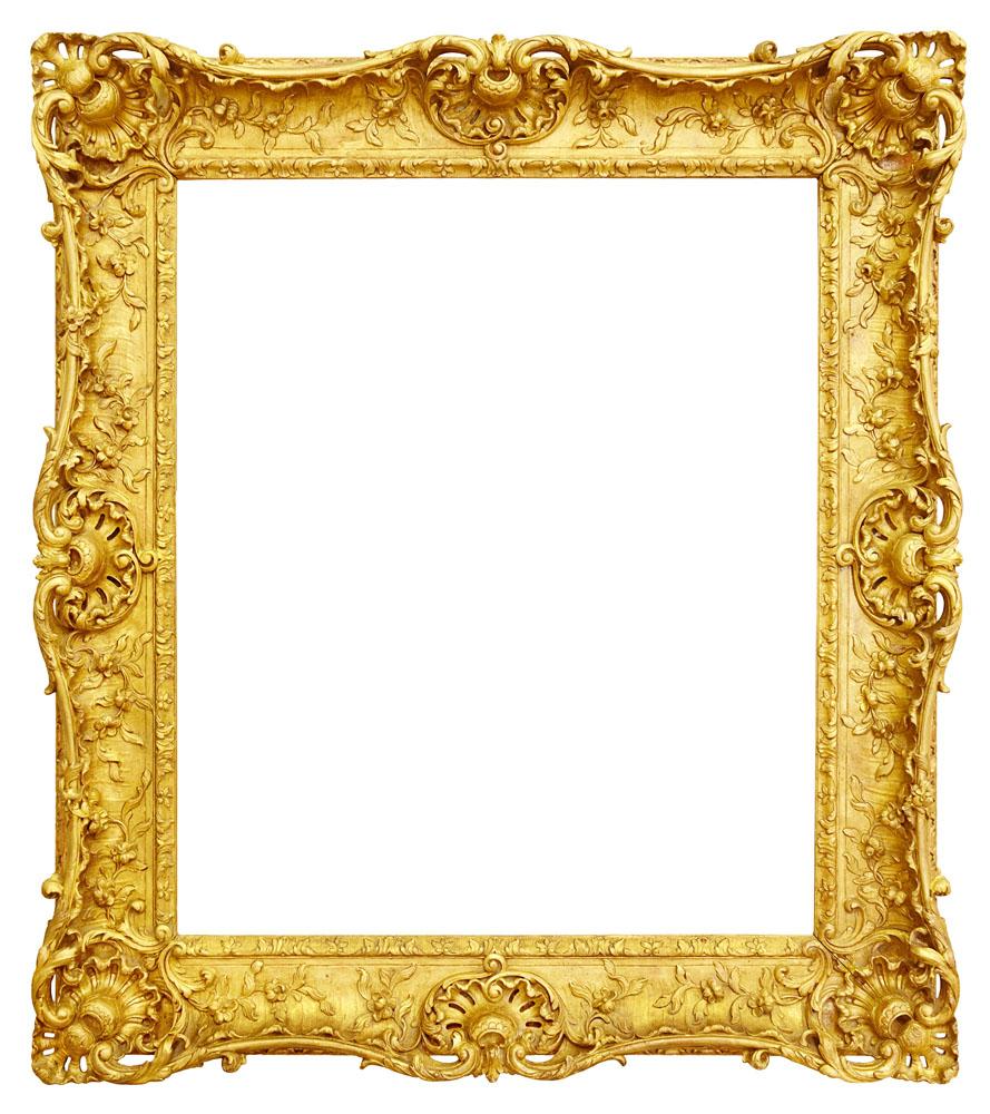 金色古典边框 图片素材下载-边框相框-背景花边-图片