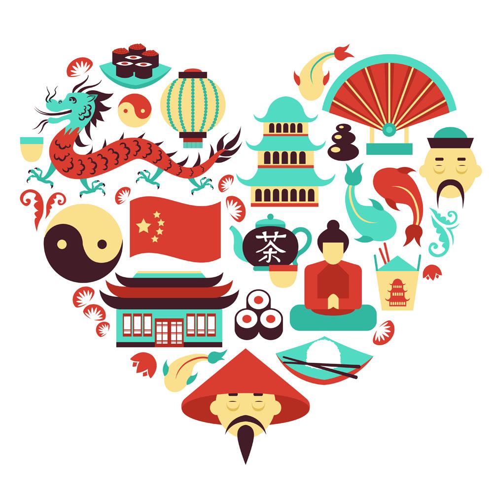 中国传统标志图形_中国和日本传统美食图标矢量素材下载(图片ID:442673)_-餐饮美食 ...