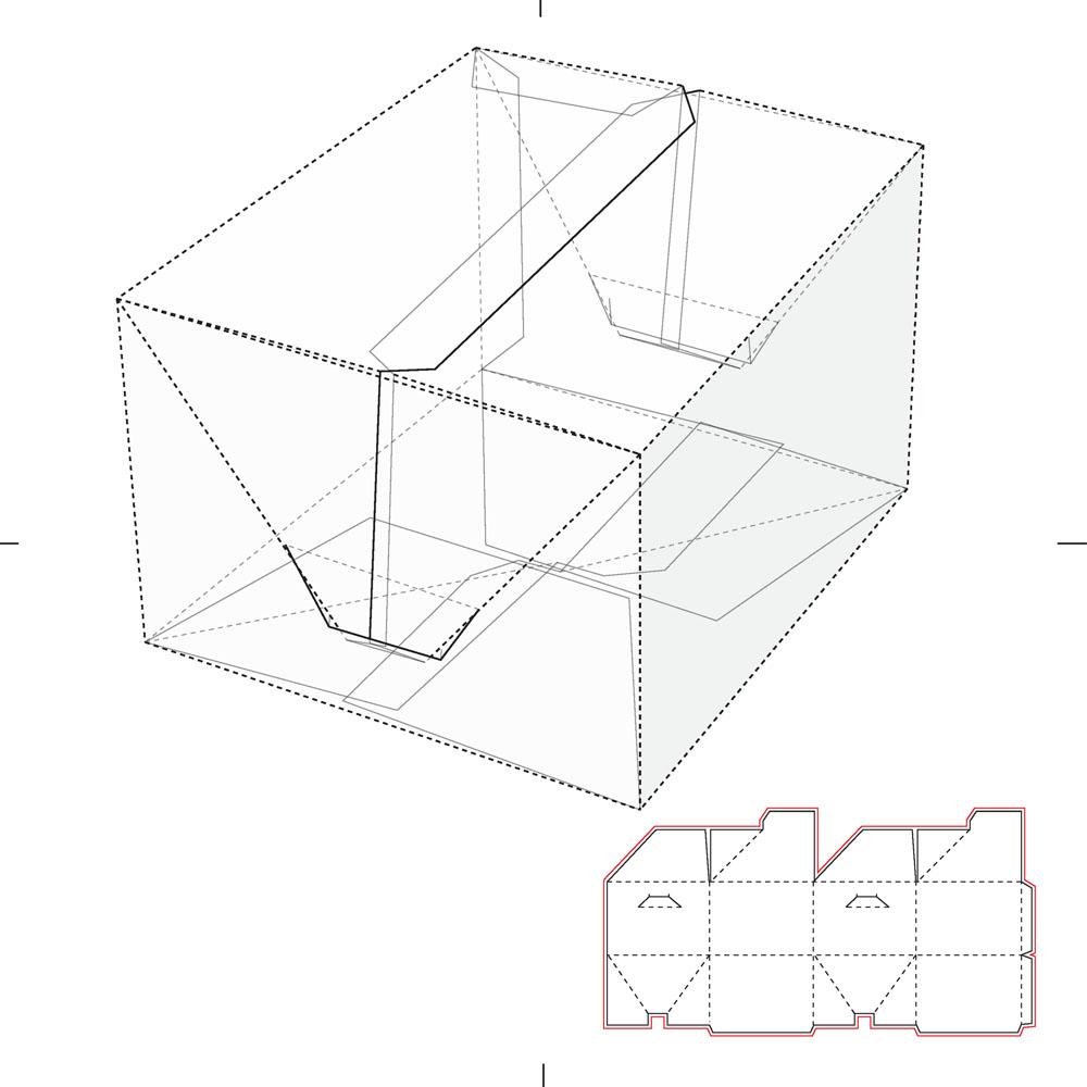 包装盒子平面展开图_正方形包装盒和展开图矢量素材下载(图片ID:448441)_-其他模板-矢量 ...