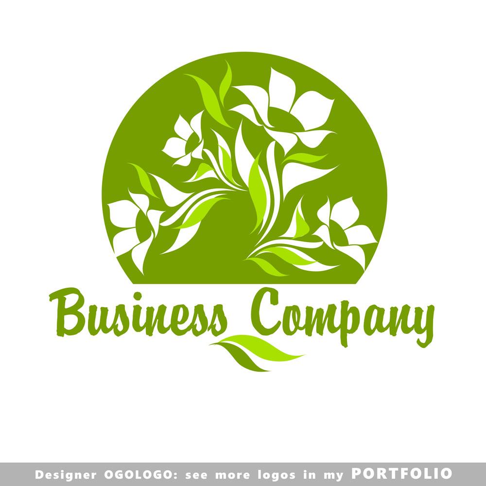 矢量素材 标志图标 行业标志 卡通鲜花logo设计,鲜花logo设计,创意log图片