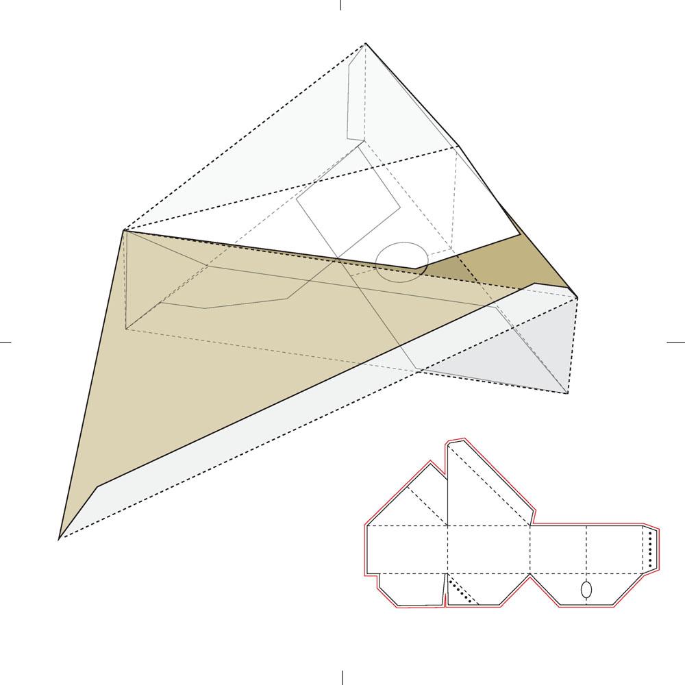 三角形盒子展开图_三角形纸盒设计矢量素材下载(图片ID:456865)_-其他模板-矢量素材 ...