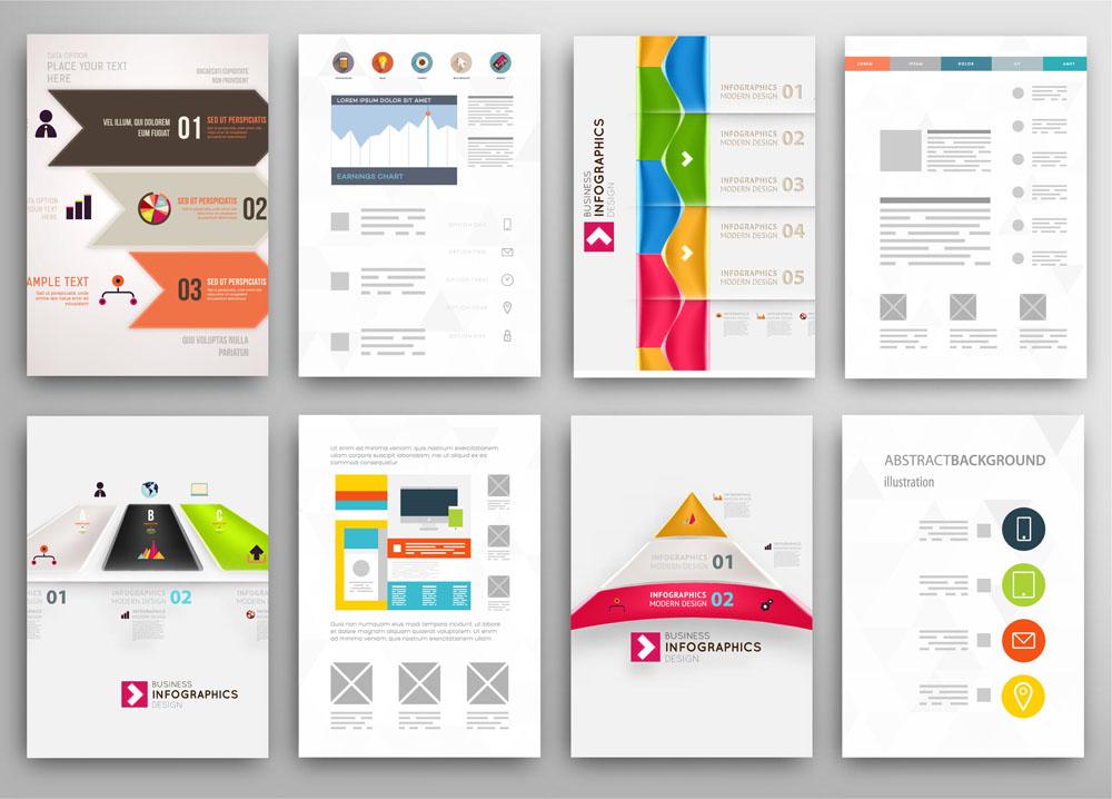 折页|传单 数字标签,宣传单模板,创意传单设计,传单版式,传单排版图片