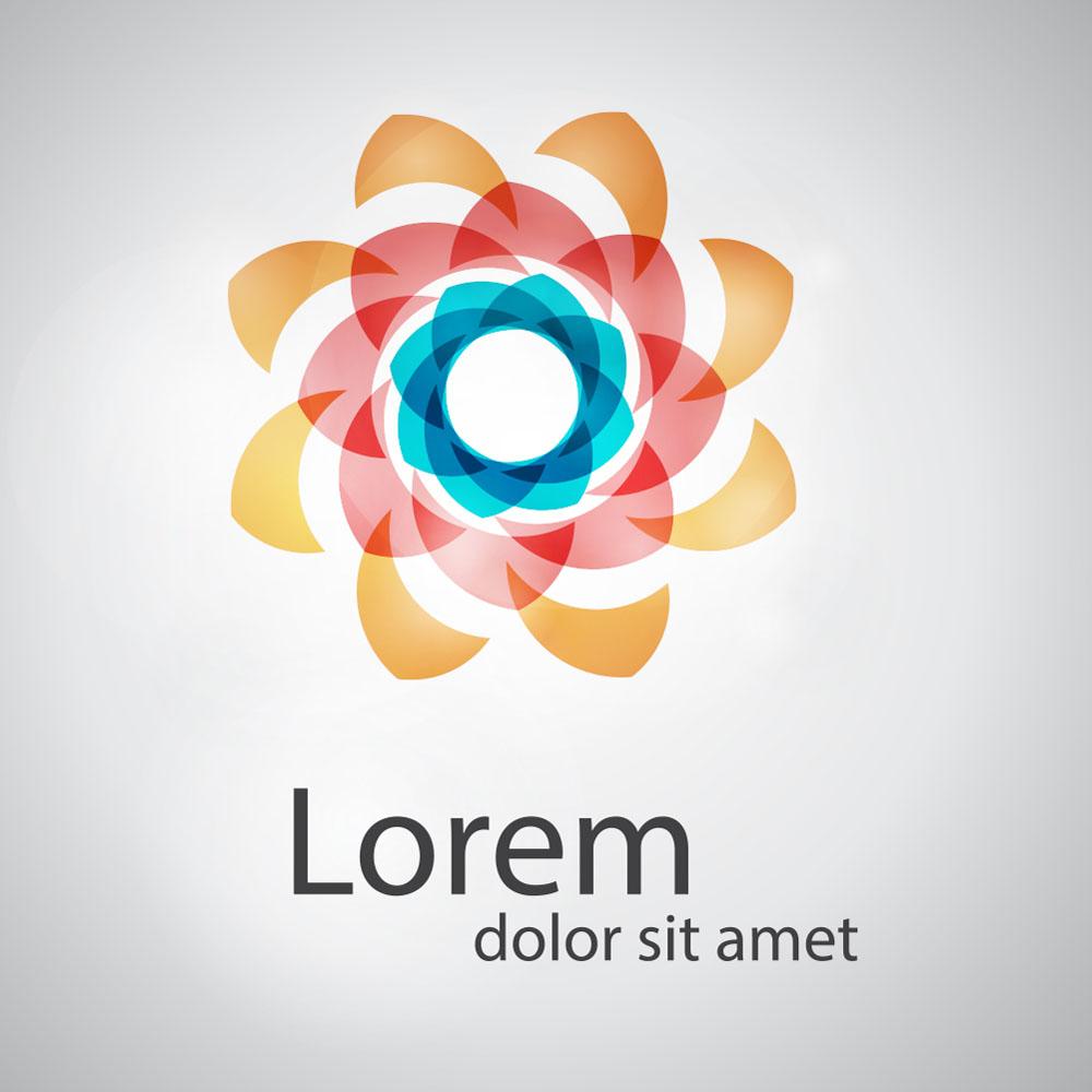 创意logo图形,标志设计,商标设计,企业logo,公司logo,鲜花logo,行业图片