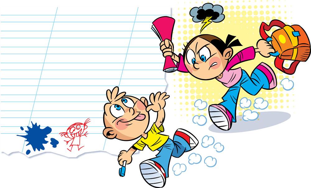 矢量人物 卡通形象 卡通男孩,奔跑,卡通男生,小男生,卡通女孩,卡通图片